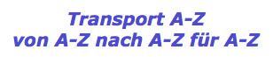 Firmenmitgliedschaft durch Transport A-Z
